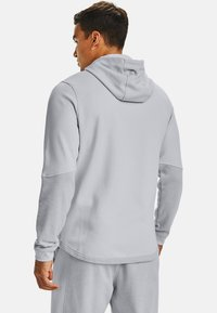 Under Armour - DOUBLE KNIT  - Hoodie met rits - halo gray - 2