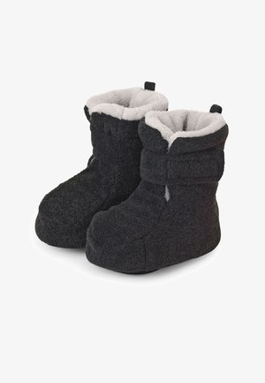 BABY WINTER SCHUH - First shoes - anthrazit meliert