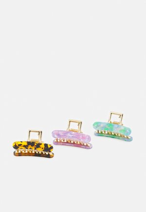 FGCECILIA HAIRSHARK 3 PACK - Hair styling accessory - gold-coloured/multi