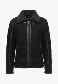 Gipsy - AIR FORCE - Leather jacket - schwarz - 5