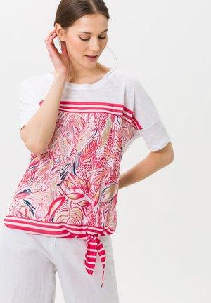 CARLOTTA - Print T-shirt - pink