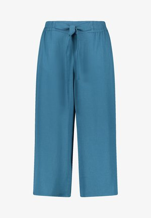 Trousers - blue coral