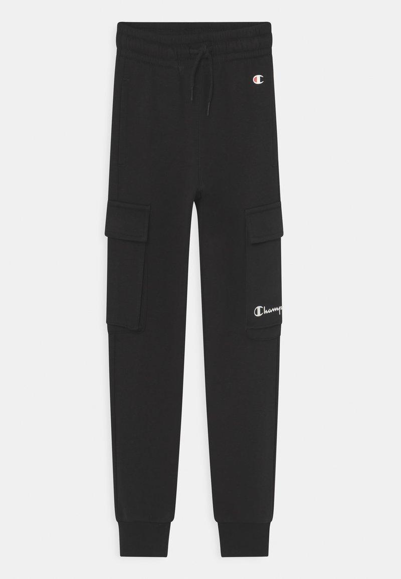 Champion - AMERICAN CLASSICS CUFF PANTS UNISEX - Pantaloni sportivi - black