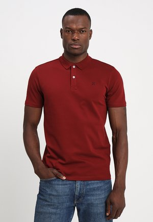 SLHLUKE SLIM FIT - Polo - syrah