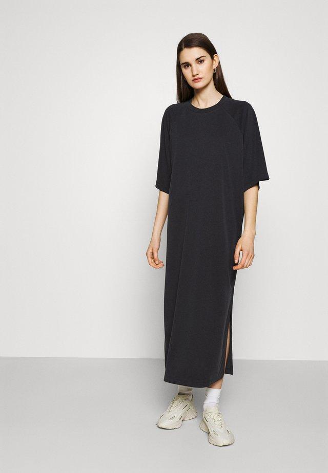 KENNY DRESS - Jerseyjurk - black dark