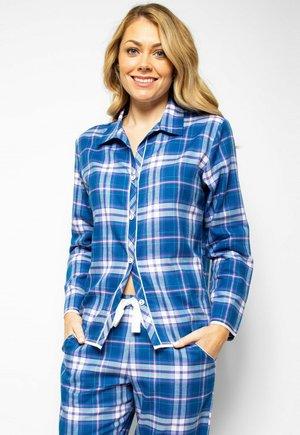 Pyjama top - blue chks