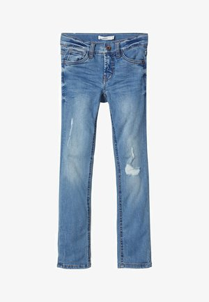 Jeans slim fit - light blue denim
