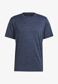adidas Performance - M HT EL TEE - T-shirts basic - blue - 6