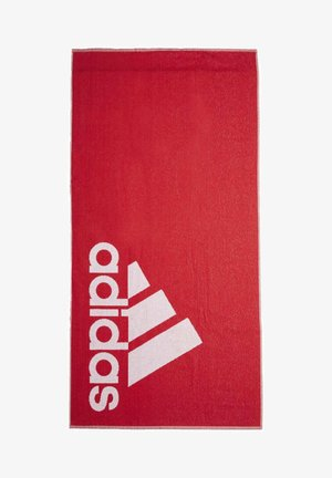 ADIDAS TOWEL LARGE - Towel - red