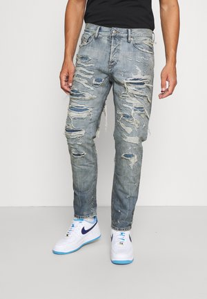 D-FINING - Jeans Tapered Fit - blue denim