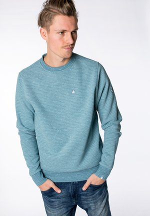 VINCENTAK B - Sweatshirt - light blue