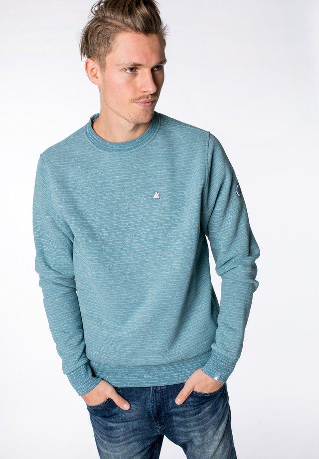 VINCENTAK B - Sweatshirt - light blue