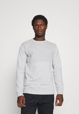 STRUCTURE - Sweatshirt - light stone grey melange