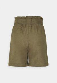 ONLY - ONLSMILLA VIVA LIFE LONG BELT  - Shorts - covert green - 7
