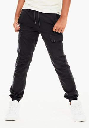 Cargo trousers - anthrazit