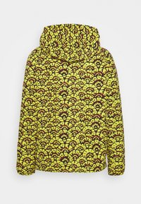 The North Face - PRINTED CLASS FANORAK - Outdoor jacket - mustard yellow/dark blue - 6