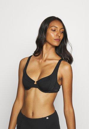 SOPHISTICATED BALCONETTE - Bikini top - black