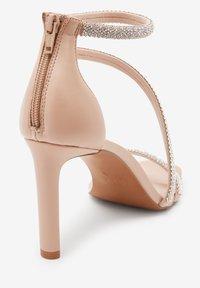 Next - Sandály na vysokém podpatku - nude - 1