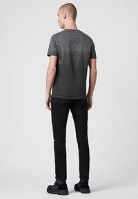 AllSaints - LOBKE  - Print T-shirt - black - 2