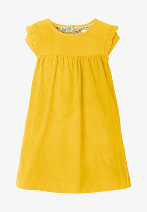 Denim dress - yellow