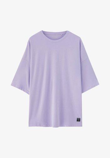 T-shirt - bas - purple