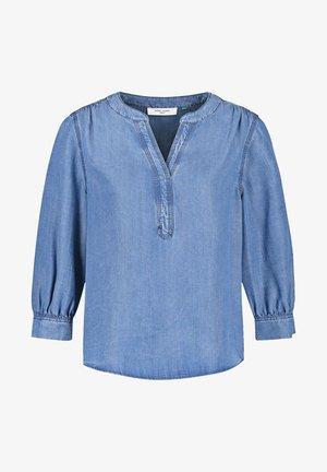 Blouse - blue denim