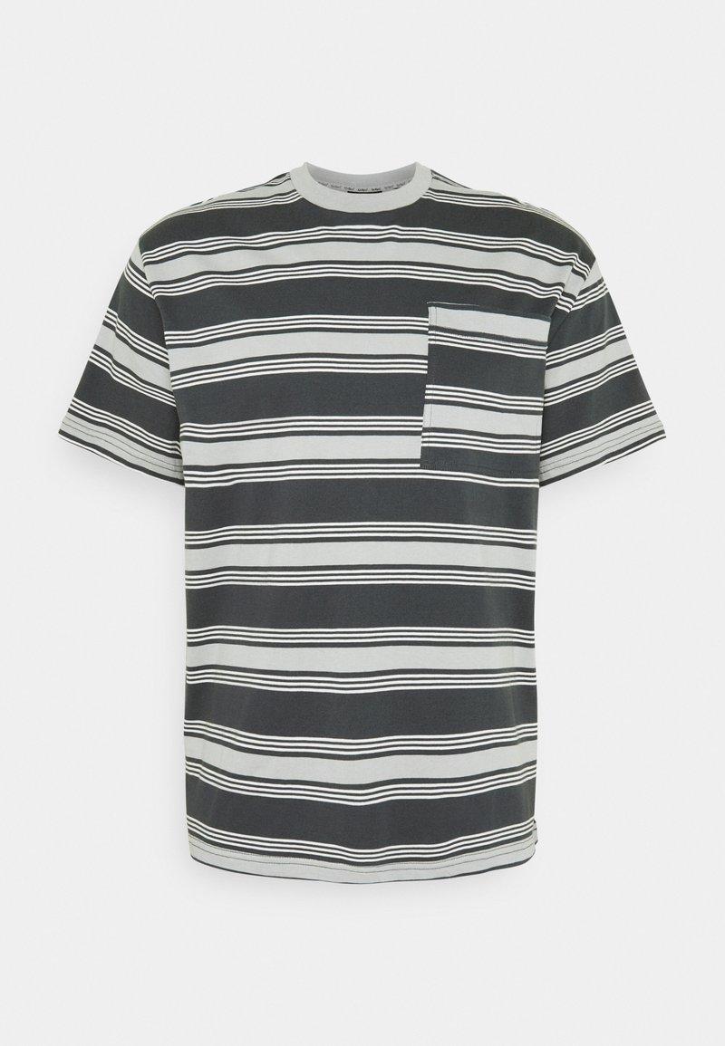 Kickers Classics - STRIPE TEE - T-shirt con stampa - grey