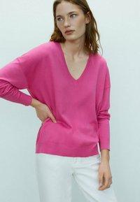 Massimo Dutti - Sweatshirt - neon pink - 1