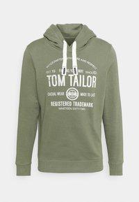 TOM TAILOR - HOODIE  - Hoodie - oak leaf green - 3