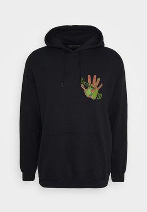 HEAT MAP HAND HOODIE - Hoodie - black