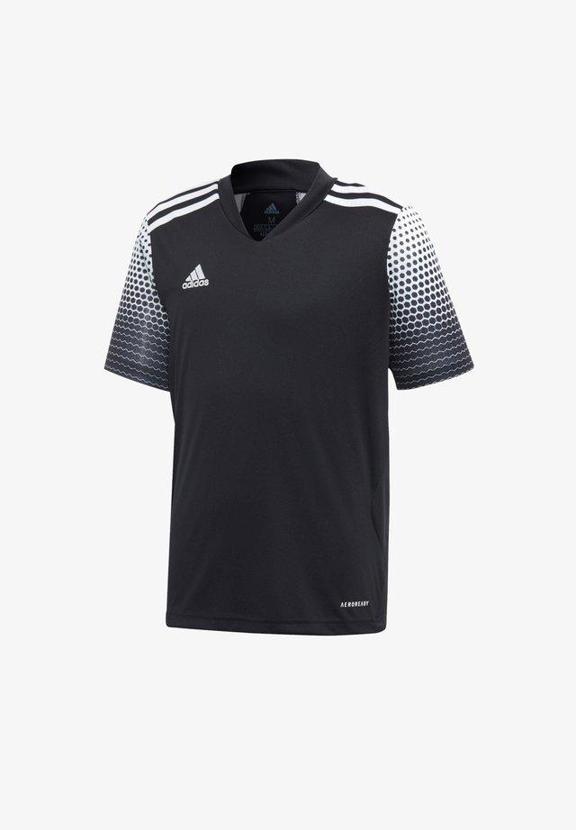 T-Shirt basic - schwarzweiss