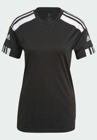 adidas Performance - SQUADRA 21 - Camiseta estampada - black/white - 8