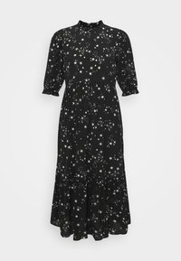 New Look Petite - PIECRUST PUFF STAR DRESS - Denní šaty - black - 4