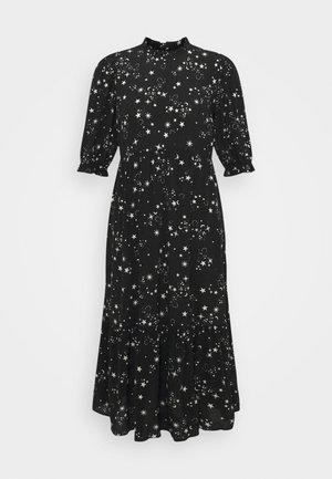 PIECRUST PUFF STAR DRESS - Kjole - black