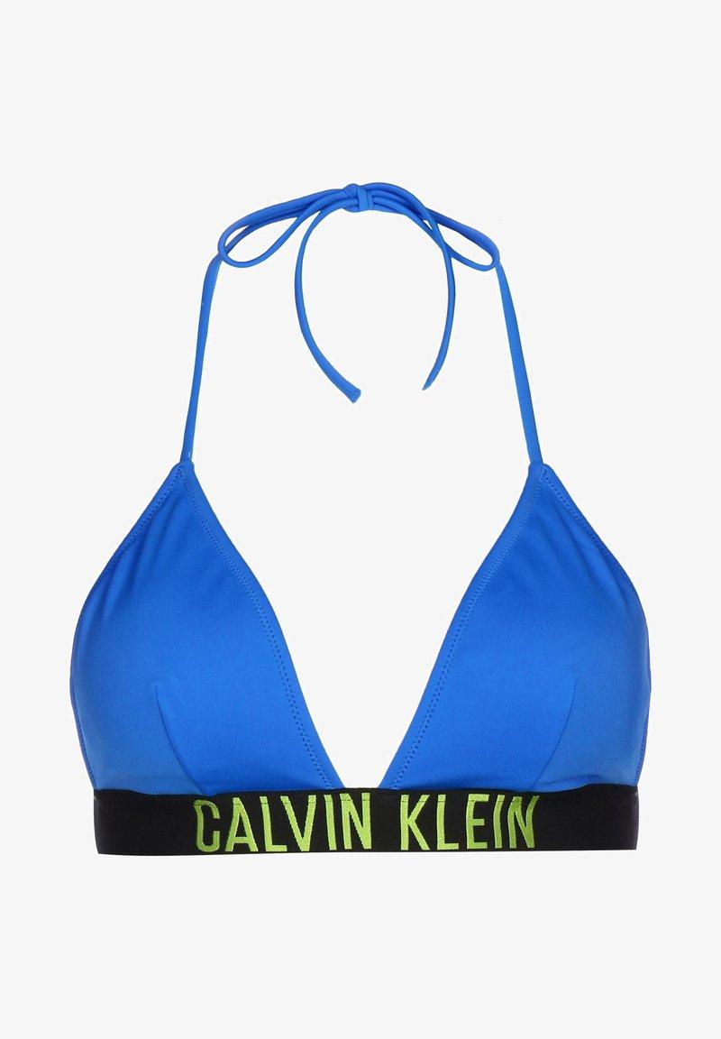 Calvin Klein Underwear - Bikini top - electric blue lemonade