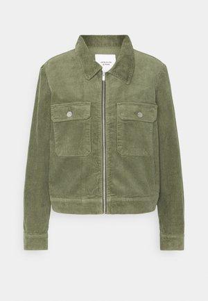 JDYSHIRAZ LIFE ZIP JACKET - Summer jacket - kalamata