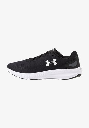 CHARGED PURSUIT 2 - Neutral running shoes - black/white