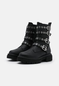 Even&Odd Wide Fit - Cowboystøvletter - black - 2