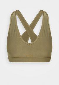 Roxy - HEROS  - Medium support sports bra - covert green - 5