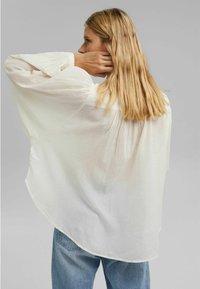 Esprit - Button-down blouse - off white - 6