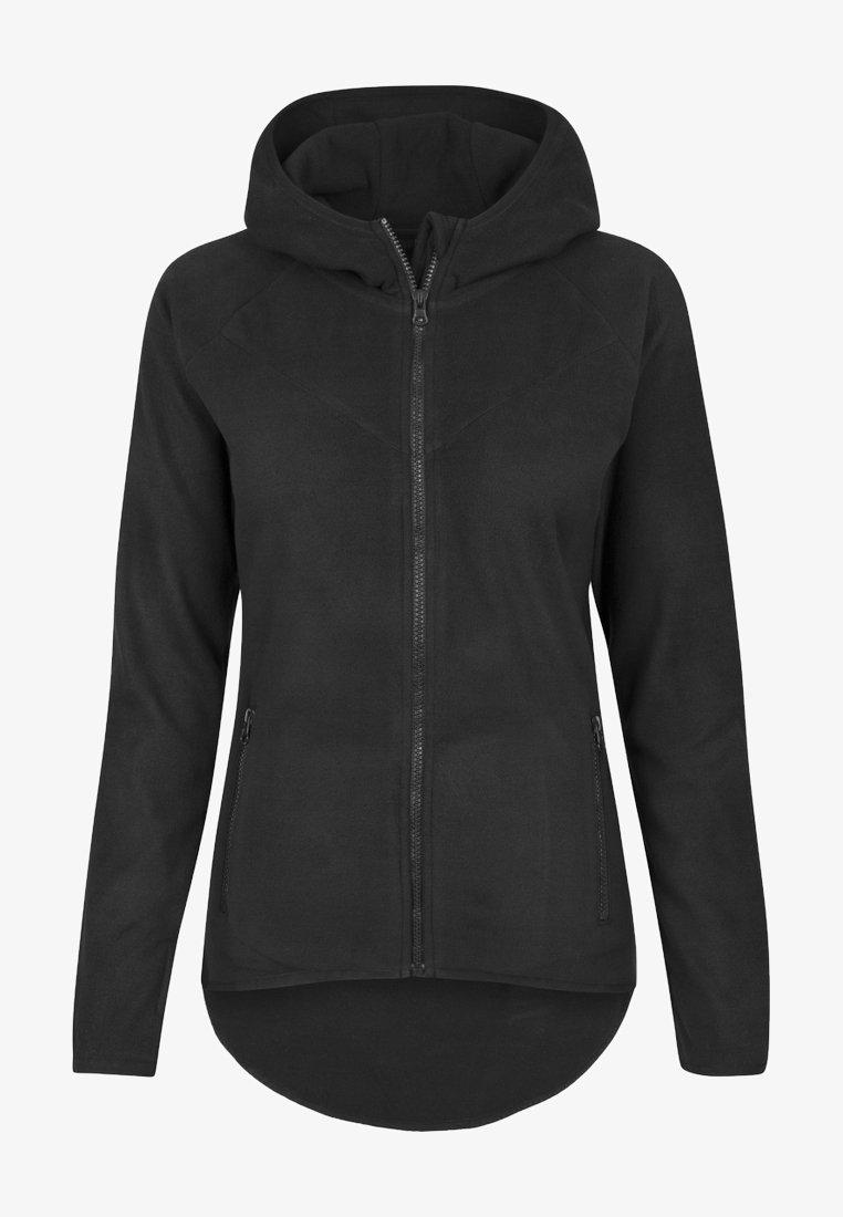 Urban Classics - Fleece jacket - black