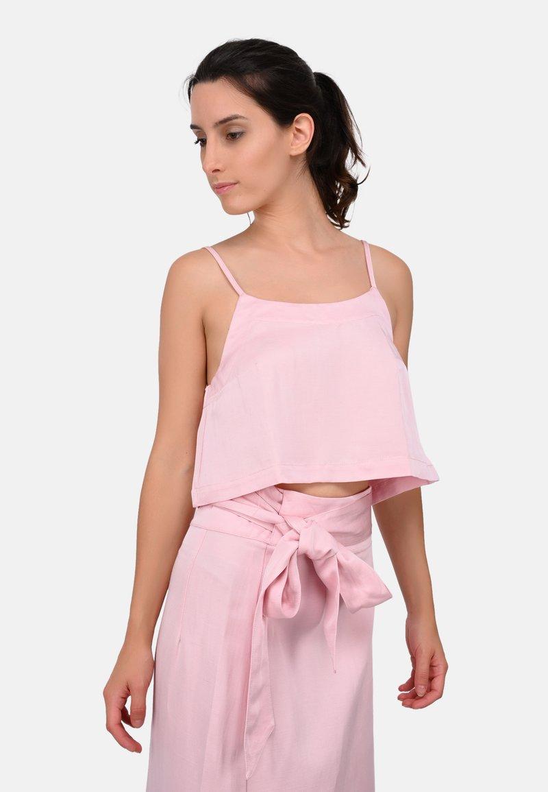 Bondi Born - FLARED CAMI - Top - light pink