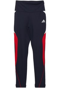 adidas Performance - G A.R. BOLD T - Leggings - legend ink/scarlet/white - 3