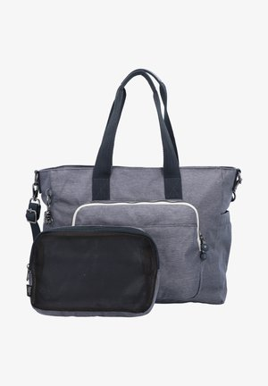 PEPPERY MIRI - Baby changing bag - charcoal