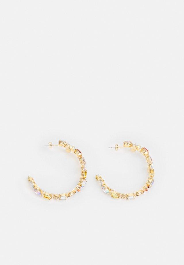 PCMAPPY EARRINGS - Kolczyki - gold-coloured/multi