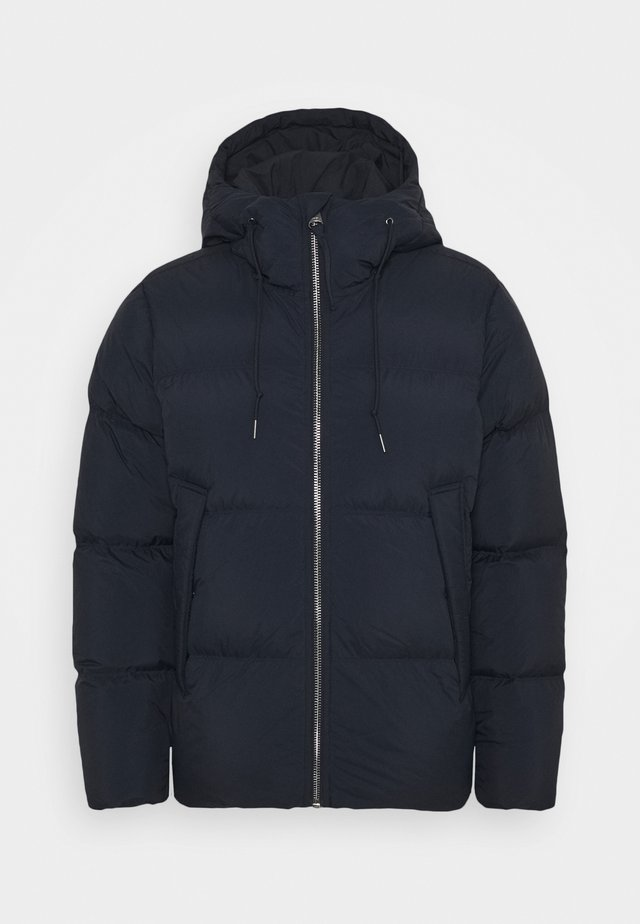 Down jacket - blue dark