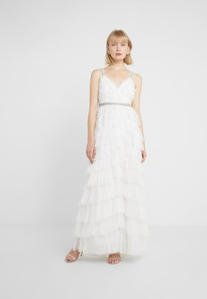 LEILAH DOTTED BRIDAL GOWN - Gallakjole - ivory