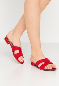 Marco Tozzi - SLIDES - Mules - red - 0