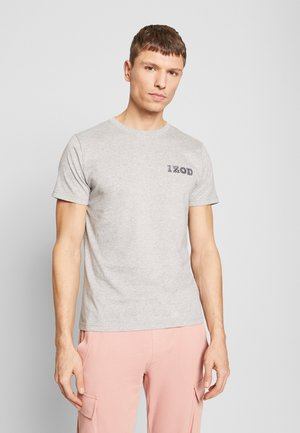 LOGO TEE - Triko s potiskem - light grey heather