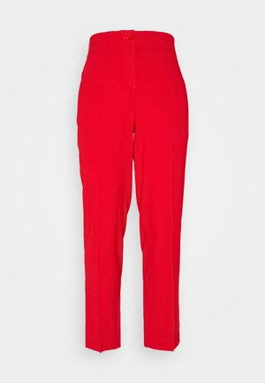 Trousers - fire red